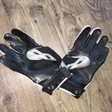Nike Accessories | Black Gray Nike Receivers Nfl Football Gloves Xl | Color: Black/Gray | Size: Xl