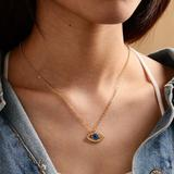 Urban Outfitters Jewelry   3$30 Evil Eye Pendant Necklace   Color: Gold   Size: Os