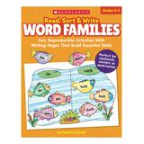 Scholastic Teaching Resources Educational Workbooks - Read Sort Write Word Families Paperback Workbook