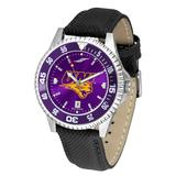 """""""Purple Northern Iowa Panthers Competitor AnoChrome Color Bezel Watch"""""""