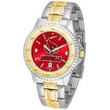 """""""Red Louisville Cardinals Competitor Two-Tone AnoChrome Watch"""""""