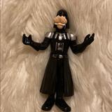 Disney Toys | *Star Wars Disney Goofy Darth Vadar Action Figure | Color: Black/Silver | Size: 2007