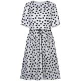 Knee-length Dress - White - Carolina Herrera Dresses
