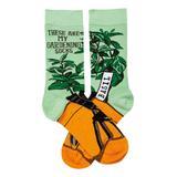 Primitives by Kathy Socks - Green 'Gardening Socks' Socks - Adult