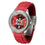 """Women's Crimson New Mexico State Aggies Sparkle Watch"""
