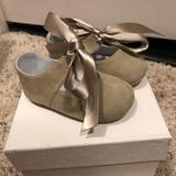 Gucci Shoes | Baby Gucci Mary Jane Flats Bnib Size 17 | Color: Tan | Size: 0.5bb