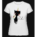 I Am A Caticorn - Shirtinator Frauen T-Shirt