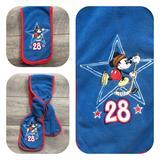 Disney Accessories | 3$25 Disney | Mickey Ice Hockey Scarf | Color: Blue/Red | Size: Osb