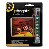 Brightz Bike Accessories Yellow - Yellow LED Bicycle Accessory Light