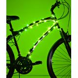 Brightz Bike Accessories Green - Green microLED Bicycle Frame Accessory Light