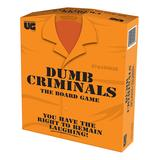University Games Card Games - Dumb Criminals Board Game