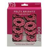 Brightz String Lights Donut - Donut 96'' Felt Icon LED Light String