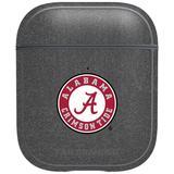 Gray Alabama Crimson Tide Air Pods Metallic Case