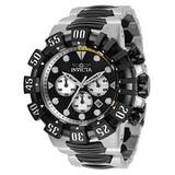 Invicta Men's Excursion Quartz Watch with Stainless Steel Strap, Silver, Black, 31.3 (Model: 32375)