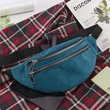 junfeng Waist Pack Belt Bag Waist Packs for Women Bag Corduroy Bag Women Bag Fanny Pack Message Bag Crossbody