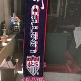 Nike Accessories | Authentic Usmnt Nike Scarf | Color: Blue/Red | Size: Os