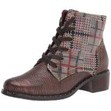 L'Artiste by Spring Step Women's Ankle Boot, BROWN MULTI, 5.5-6