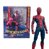 YWEIWEI Marvel The Avengers Spiderman Model Spider-Man Action Figure Kids Toys Boxed