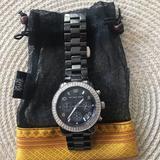 Michael Kors Accessories   Authentic Michael Kors Black Ceramic Watch   Color: Black   Size: Os