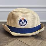 Disney Accessories | 3 For $20 Sale - Disney Store Mickey Mouse Fedora | Color: Blue/Cream | Size: Osb