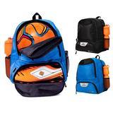 ERANT Soccer Bag for Girls – Soccer Backpack for Boys – Soccer Bags for Boys – Girls Soccer Bags with Ball Holder – Soccer Backpack for Girls – Kids Soccer Bag Kids (Blue)