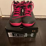 Under Armour Shoes   Basketball Shoes   Color: Black/Pink   Size: 7.5
