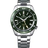 Grand Seiko Green Dial Spring Drive GMT Sport Watch SBGE257