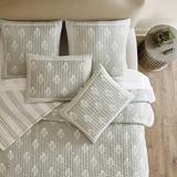 Amaya Block Print Quilt Spa King - Ballard Designs