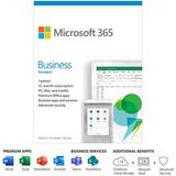 Microsoft 365 Business Standard (1 PC or Mac License / 12-Month Subscription / Produc KLQ-00495