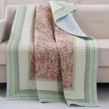 """Palisades Quilted Throw Blanket by Greenland Home Fashions in Pastel (Size 50"""" X 60"""")"""