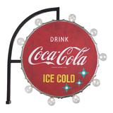 Vintage Inspired Coca Cola LED Marquee Wall Decor