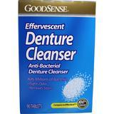 Effervescent Anti-Bacterial Denture Cleanser by GoodSense (90) - GoodSense