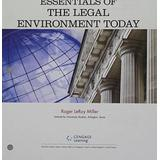 Bundle: Cengage Advantage Books: Essentials of the Legal Environment Today, Loose-leaf Version, 5th + MindTap Business Law, 1 term (6 months) Printed Access Card