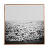Sand & Stable™ Infinity - Picture Frame Photograph Print on Wood Wood in Black/Brown/White, Size 21.0 H x 21.0 W x 1.0 D in | Wayfair