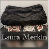 Anthropologie Bags   Anthropologie Laura Merkin Black Leather Clutch   Color: Black   Size: Os