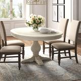 Kelly Clarkson Home Grace Dining Table Wood in Brown/Gray/White, Size 30.0 H x 66.0 W x 48.0 D in | Wayfair 6051F9B9D98F48468993F6AC6C177C1D