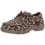 Roper womens Casual Shoe Moccasin, Tan, 9.5 US