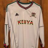 Adidas Shirts & Tops | Adidas Kenya Soccer Jersey Size Medium Kids | Color: Red/White | Size: Mb