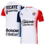 """Youth Puma White Chivas 2020/21 Away Replica Jersey"""