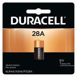 DURACELL PX28A Battery,Size 28A,Alkaline,6V