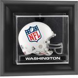 Washington Football Team Black Framed Wall-Mountable Logo Mini Helmet Display Case