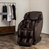 Inner Balance Wellness Heated Full Body Massage Chair Faux Leather in Brown, Size 44.0 H x 28.5 W x 68.5 D in | Wayfair IMR0052-31NA