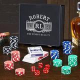 East Urban Home Ostara 12 Piece Personalized Poker Chips Set, Size 9.0 H x 8.0 W in   Wayfair D90A89F1F10D435A8246F6395D216010