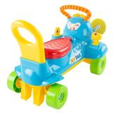 Lil' Rider Ride-on Toy Airplane Plastic, Size 14.0 H x 21.0 W x 13.0 D in | Wayfair 80-TK-151421