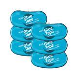 PLUS Stamps - Blue Mini Glue Tape Dispenser - Set of Six