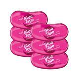 PLUS Stamps - Pink Mini Glue Tape Dispenser - Set of Six