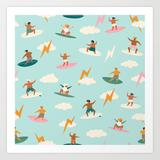 Art Print | Just Boys by Tasiania - X-Small - Society6