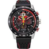 Disney's Mickey Mouse Men's Racer Strap Watch by Citizen - CA4439-07W, Size: Large, Black
