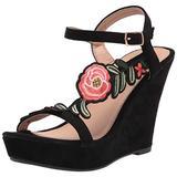 Yoki womens Comfort Pump, Black, 8.5 US