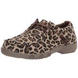Roper womens Casual Shoe Moccasin, Tan, 9 US